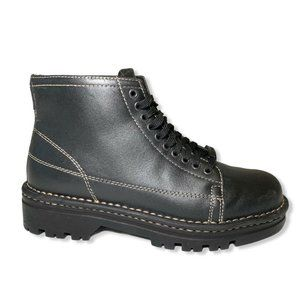 Harley Davidson Lace Up Boots Womens Size 6 Black